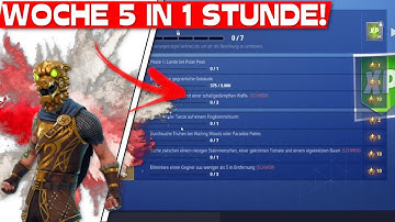 ALLE SEASON 7 WOCHE 5 CHALLENGES in 1 STUNDE?!