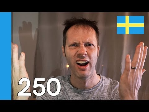 LEARN THE NEW SWEDISH WORDS 2017 - 10 Swedish Words #250