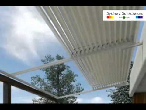 Aluminium Retractable Roof System Eurola Sydney