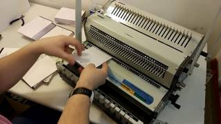 видео Сборка и изготовление блокнотов на пружине.