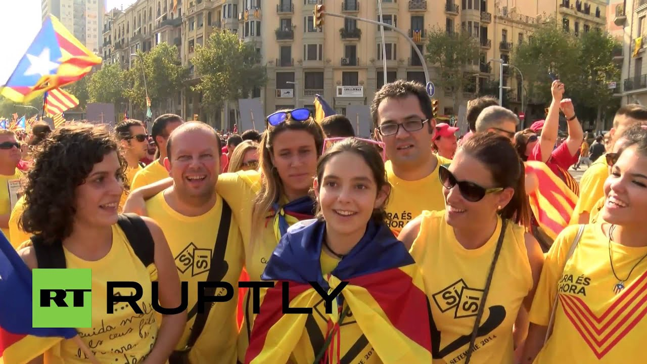 Spain: Two million Catalans demand independence on ...