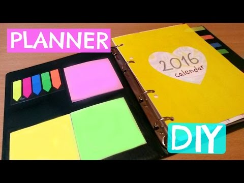 DIY : Kako napraviti planer
