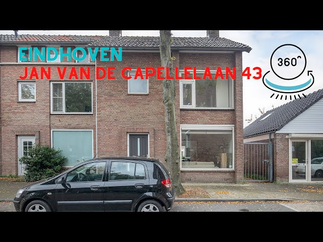 360 graden video YouTube - Jan van de Capellelaan 43 Eindhoven