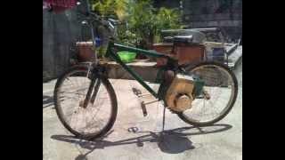 Vélo moteur-Motorized Bike (prototype) 97130