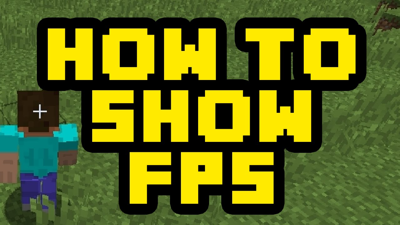 How To Show Your FPS In Minecraft 2017 - How To See Your Frames Per ...
