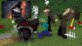 Monster School :DEAD BY DAYLIGHT CHALLENGE - Minecraft animation