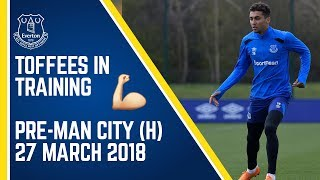 TOFFEES IN TRAINING: PRE-MAN CITY (H)