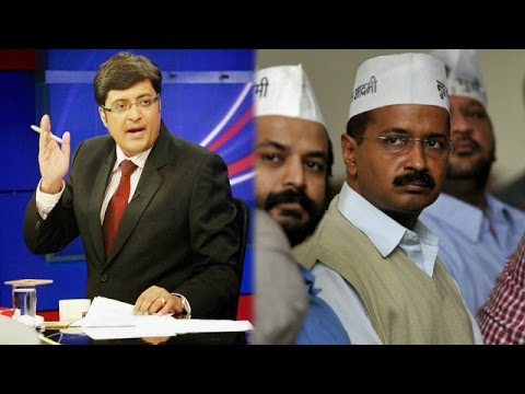 The Newshour Debate: Arvind Kejriwal's AAP is No Different Party (27th March 2015)