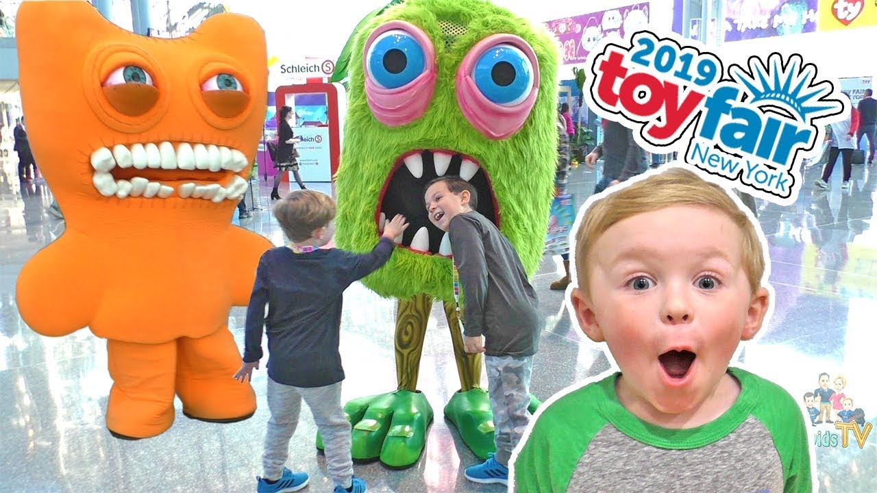 Nyc Toy Fair Day 1 We Met Funnel Vision Best Toys For
