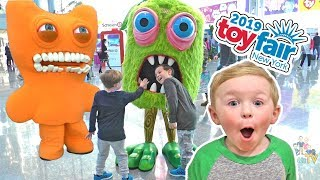 NYC Toy Fair Day 1 - We met FUNnel Vision! Best Toys for 2019