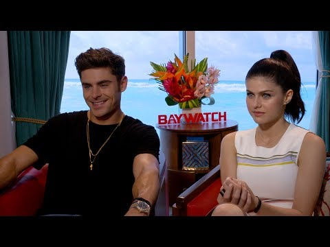 The 'Baywatch' Cast Reveals Who They'd Trust to Save Them From Drowning