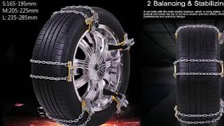 7 Цепи противоскольжения с Алиэкспресс AliExpress Car Snow chain Товары для авто из Китая Гаджеты