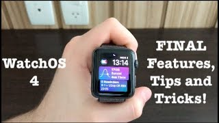 WatchOS 4 Final Features, Tips and Tricks!