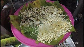 Thailand Bangkok Street Food Part.1 Mushroom Soup YDXJ0819