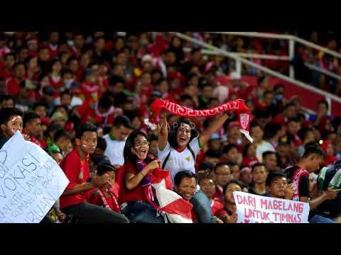BIKIN MERINDING!! SELURUH STADION MENYANYIKAN LAGU INDONESIA PUSAKA INDONESIA U16 VS MALAYSIA