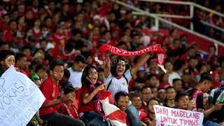 Download lagu BIKIN MERINDING!! SELURUH STADION MENYANYIKAN LAGU INDONESIA PUSAKA INDONESIA U16 VS MALAYSIA