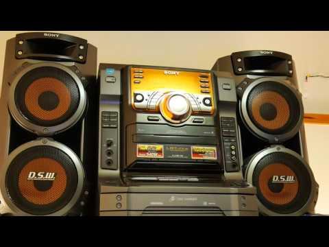 Sony Muteki LBT ZX6 Hi-Fi Stereo System
