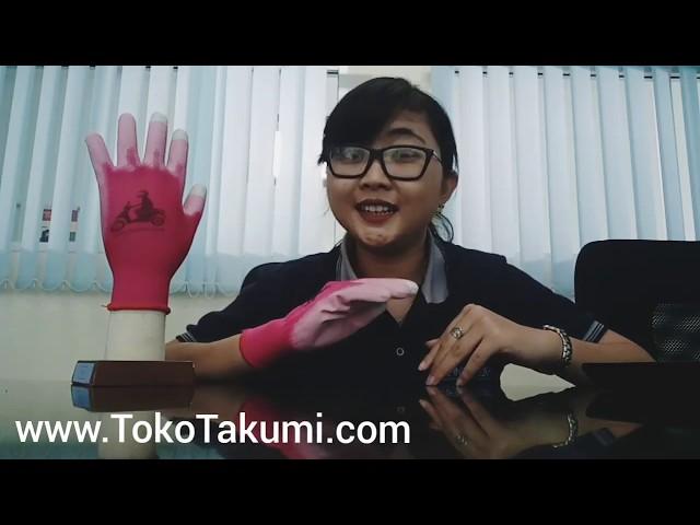 Review Sarung Tangan Motor Touch Screen Murah