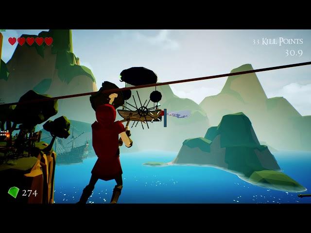 Sherwood Extreme PC Beta gameplay - Peaky Isles
