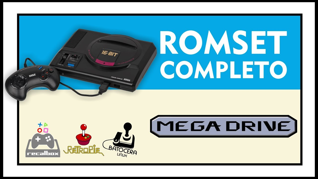 DOWNLOAD COMPLETE ROMSET OF MEGADRIVE