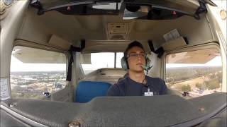 First Solo Flight With Cockpit and ATC Audio!!
