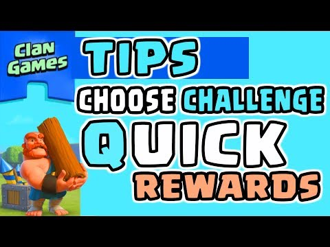 CLAN GAMES TIPS and TRICKS TO PLAY and PICK CHALLENGES EASILY in Clash of Clans | THE GAME BEGINS