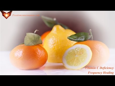Vitamin C Deficiency Frequency Healing - Treat Vitamin C Deficiency Effectively