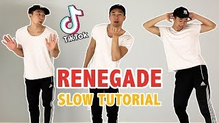 Renegade tik tok tutorial (k camp - lottery) | step by dance