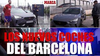 El Barcelona estrena nuevos coches I MARCA