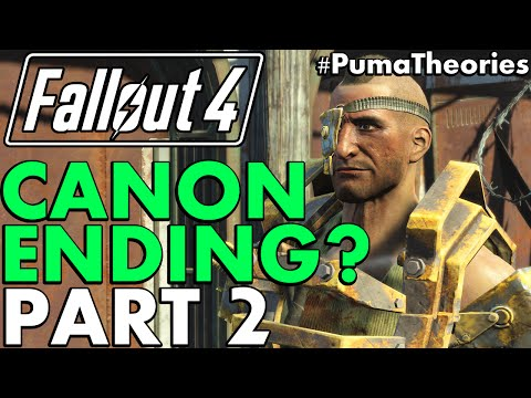 Fallout 4: What Ending is Canon? Theory Part 2 - Nuka World #PumaTheories
