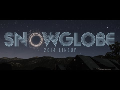 SnowGlobe (2014) - Line-up Announcement