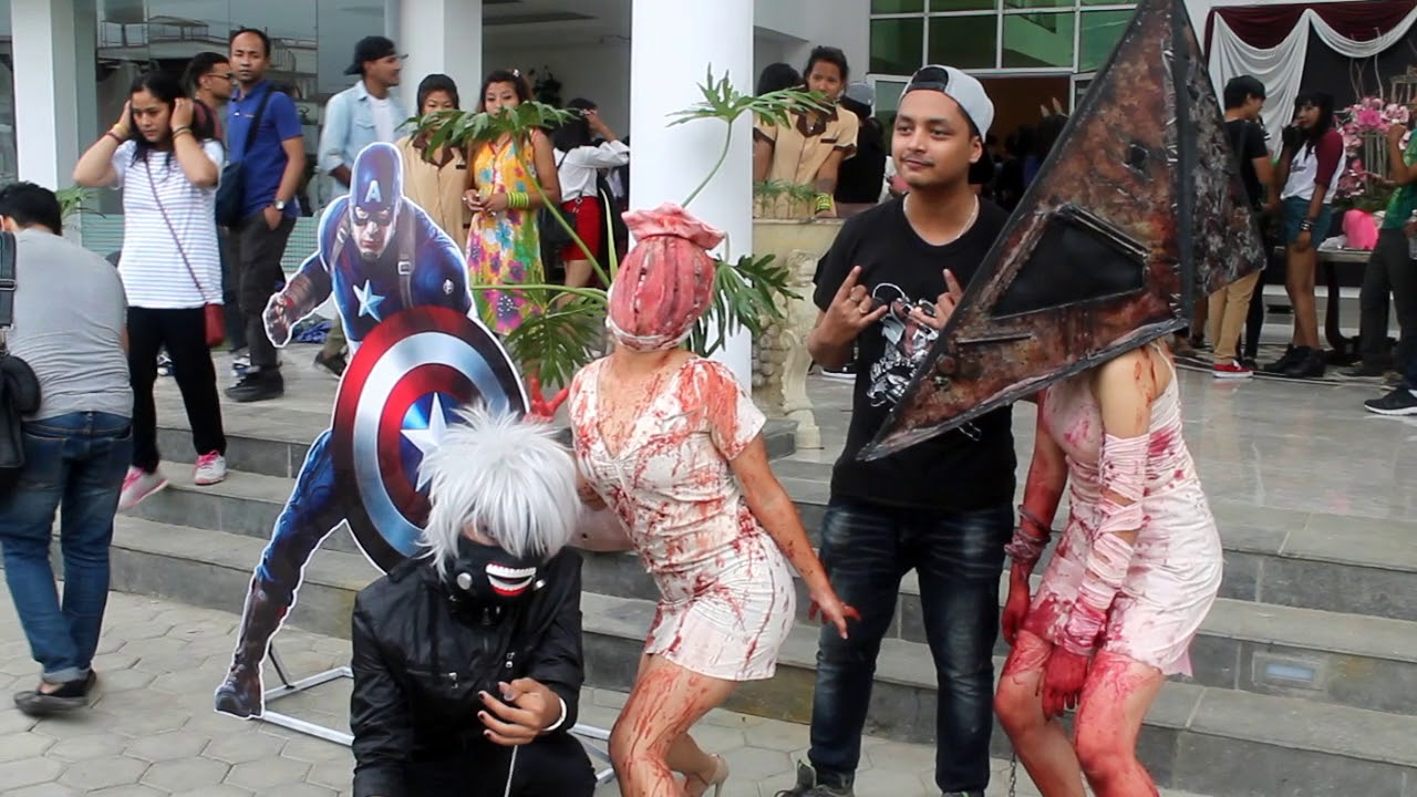 Comic And Cosplay Event Nepal Fabsity Youtube