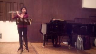 J. S. Bach   Sonata in e minor, I-Adagio ma non tanto