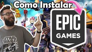 ✅ Cómo DESCARGAR e INSTALAR Epic Launcher - Descargar Juego en EPIC GAMES