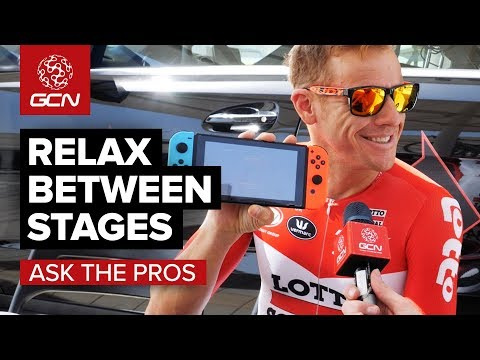 GCN Asks The Pros | How To Relax Between Stages