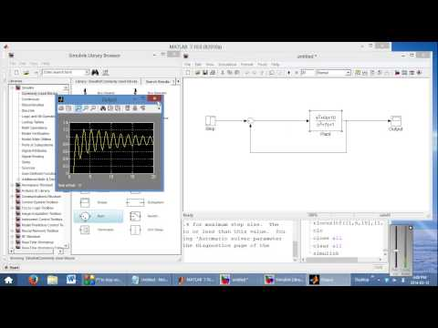 Control Design via State-space: MatLab/Simulink Example - YouTube