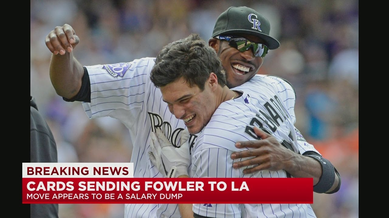 Los Angeles Angels get Dexter Fowler in trade with St. Louis Cardinals