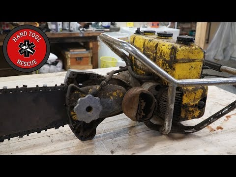 Two-Man Chainsaw [Restoration] - Motor Inspection