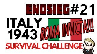 HoI4 - Endsieg - 1943 WW2 Italy - #21 CRAZY amount of Naval Invasions, BUT WE STAND STRONG!!