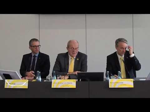 Jahresbilanzpressekonferenz 2017 / Messe Stuttgart