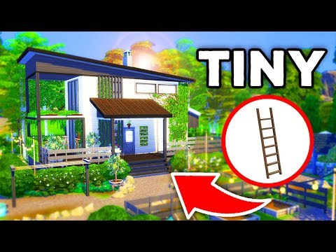 TINY ECO-FARM HOME! [ The Sims 4 ] thumbnail