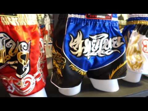 Great Muay Thai Equipment Store In Pattaya - Woody Muay Thai