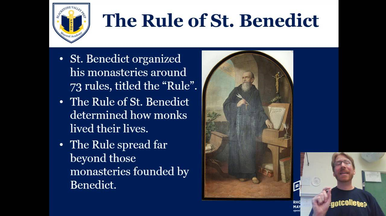 the life and the rule of st benedict