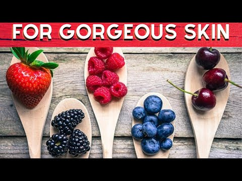 TOP 10 SUPERFOODS FOR GORGEOUS SKIN AND SHINY HAIR|FULL HD