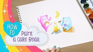 How to Paint a Care Bear! | Care Bears