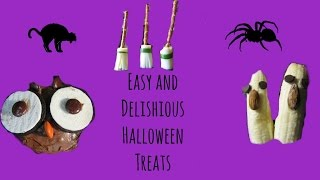 Easy and Delicious Halloween Treats Thumbnail