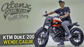 KTM Duke 200-nya Wendi Cagur [Atenx Katros]