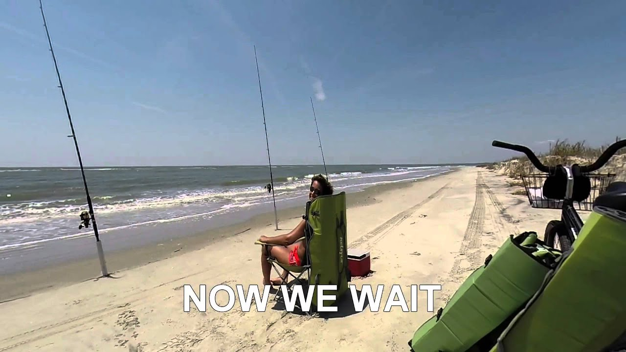 Shark Surf Fishing South Carolina A Day In The Youtube
