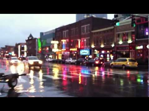 Broadway Downtown Nashville Tennessee Honky Tonks & Bars