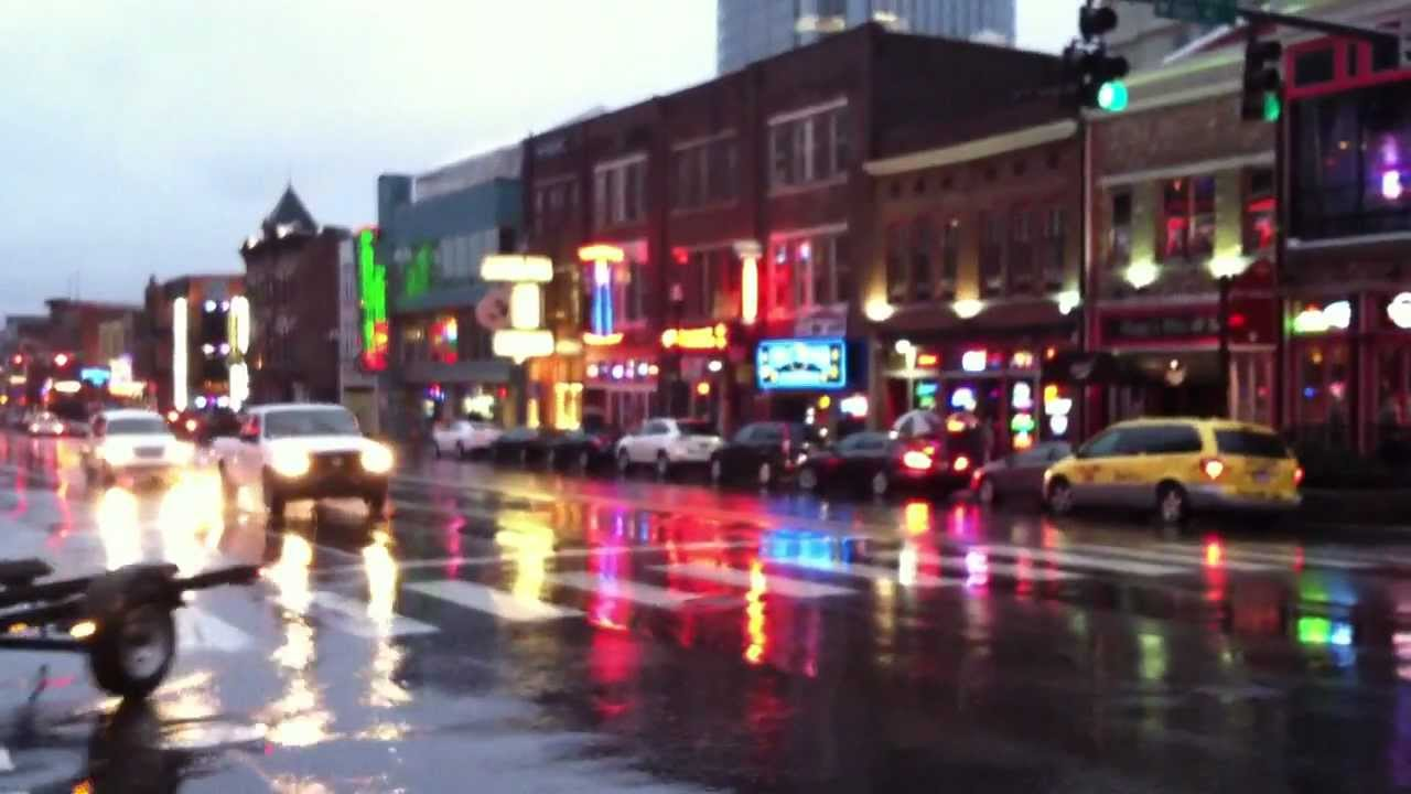 Broadway Downtown Nashville Tennessee Honky Tonks Amp Bars